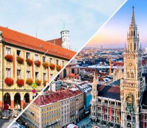 """Începând din 17 Iunie, de la Aeroportul """"Ștefan cel Mare – Suceava"""" veți putea călători spre Germania, Memmingen/München Vest, împreună cu partenerul nostru WIZZ AIR!"""